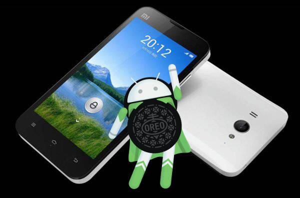 Xiaomi Mi 2 Android 8.0 Oreo