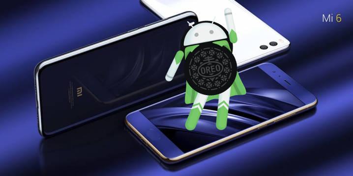 Xiaomi Mi 6 Android 8.0 Oreo beta MIUI 9