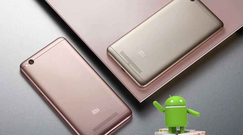 Xiaomi Redmi 4A Android 7.0 Nougat