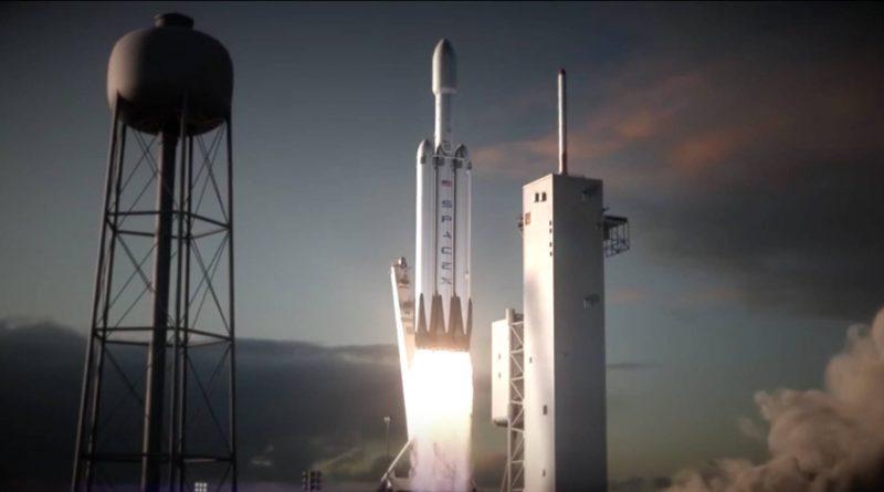 SpaceX Falcon Heavy zdjęcia Elon Musk