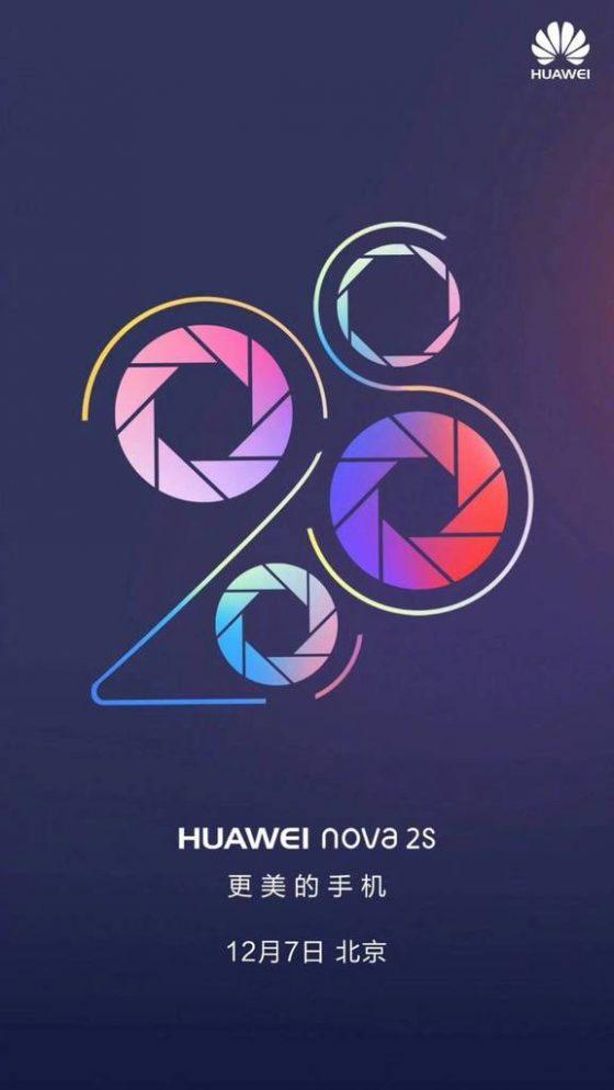 Huawei Nova 2s data premiery