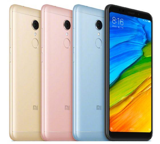 Xiaomi Redmi 5 specyfikacja