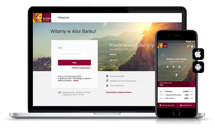 bankowość internetowa i mobilna Alior Bank