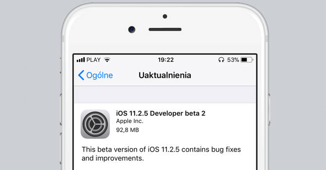 iOS 11.2.5 beta 2