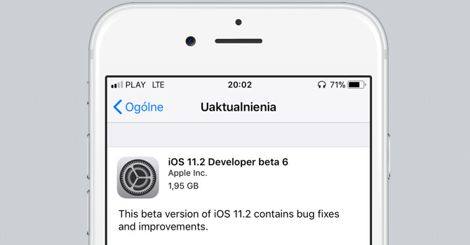 iOS 11.2 beta 6 macOS 10.13.2 beta 6