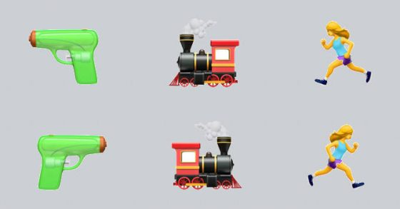 iOS 12 Android P odwracalne emoji