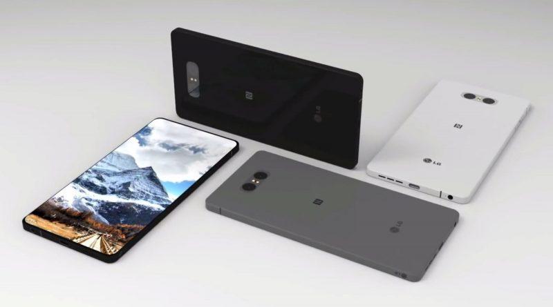 LG G7 koncept wizualizacja