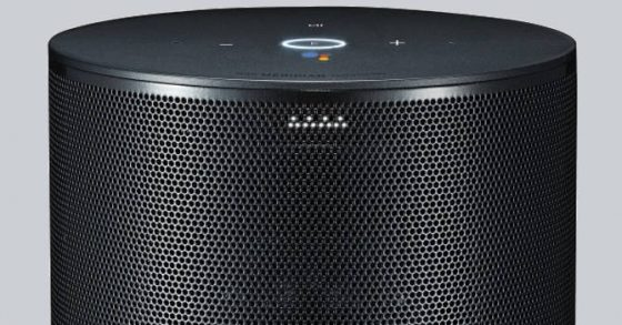 LG Thinq Speaker głośnik inteligetny Google Assistant CES 2018