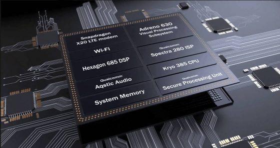 Qualcomm Snapdragon 845 specyfikacja