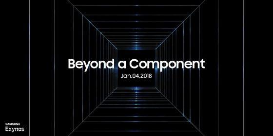 Samsung Galaxy S9 Exynos 9810 CES 2018