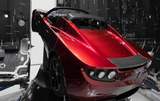 Tesla Roadster Elon Musk Mars SpaceX Falcon Heavy