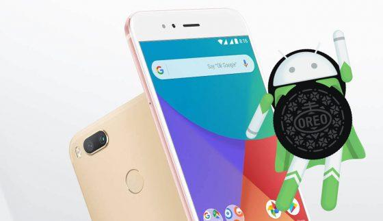 Xiaomi Mi A1 Android 8.0 Oreo