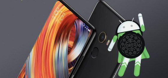 Xiaomi Mi Mix 2 Android 8.0 Oreo beta MIUI 9