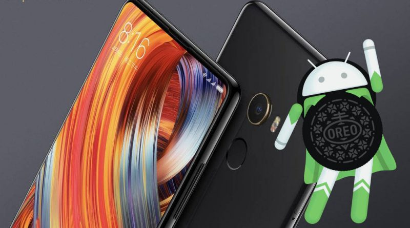 Xiaomi Mi Mix 2 Android 8.0 Oreo beta MIUI 9