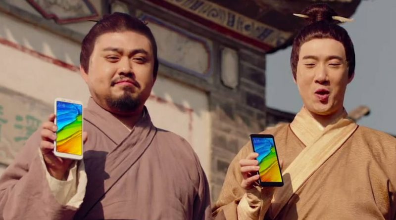 Xiaomi Redmi 5 Plus promo wideo