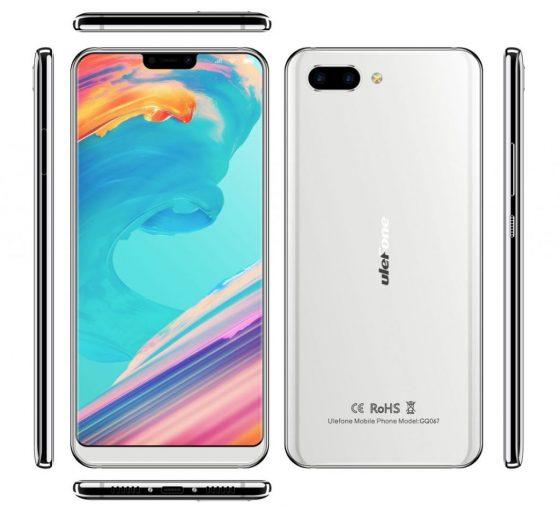 Ulefone T2 Pro jak iPhone X