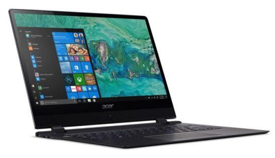 Acer Swift 7 z LTE CES 2018