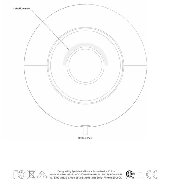Apple HomePod FCC