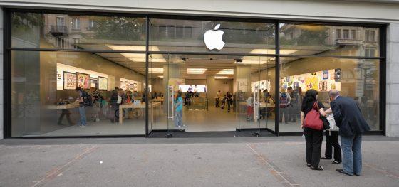apple store zurich sklep