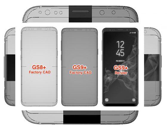 Samsung Galaxy S9 schematy