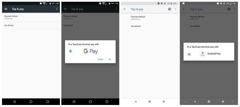 google pay usługi google play