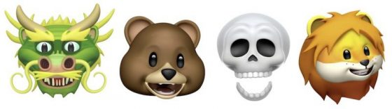 iOS 11.3 beta 1 animoji