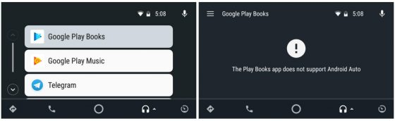 Książki Google Play 4.0 audiobooki Android Auto