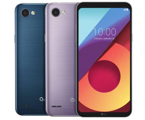 LG Q6 nowe kolory