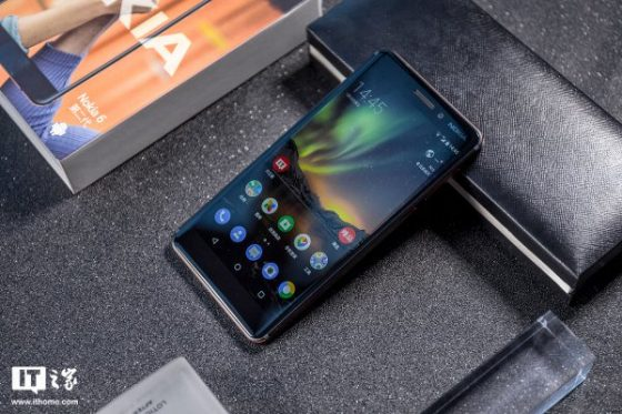 Nokia 6 (2018) unboxing