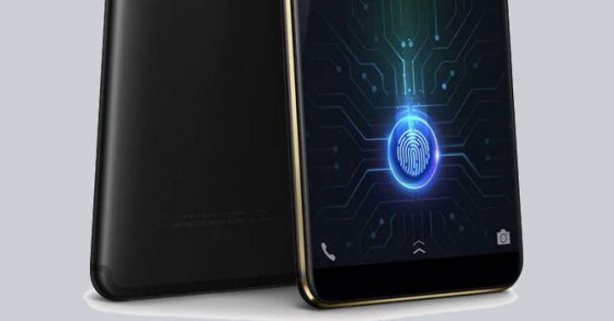 Vivo X20 Plus UD with a fingerprint reader on the screen officially