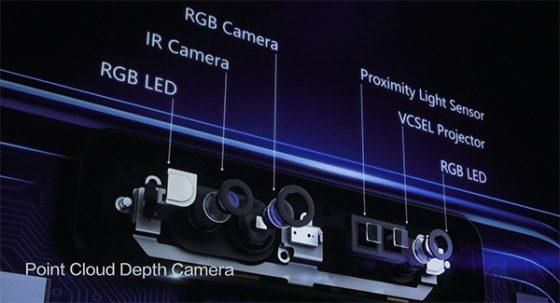 Huawei P20 Point Cloud Depth Camera