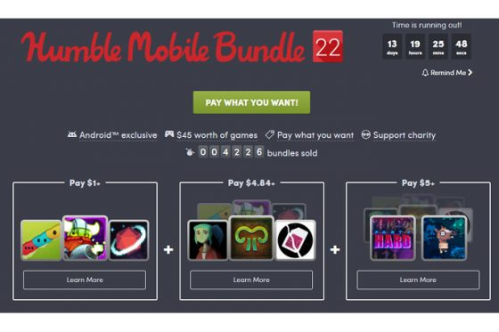 Humble Mobile Bundle 22