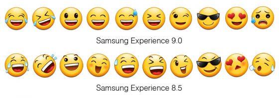 Samsung experience 9.0 emoji 2