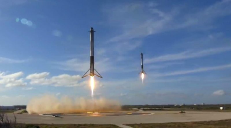 Falcon Heavy Start Elon Musk