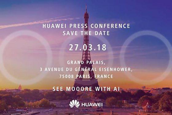 Huawei P20 kiedy premiera