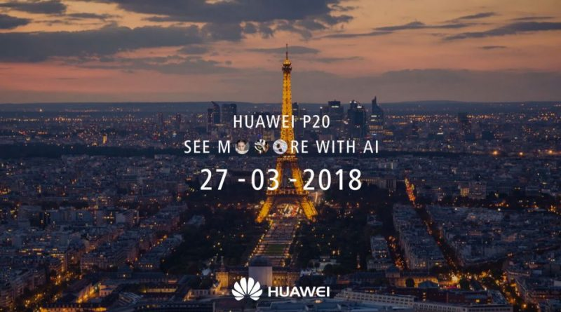 Huawei P20 teaser