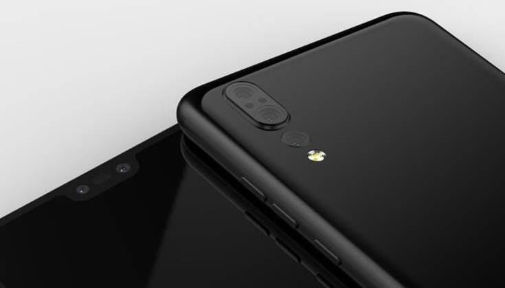 Huawei P20 rendery Onleaks