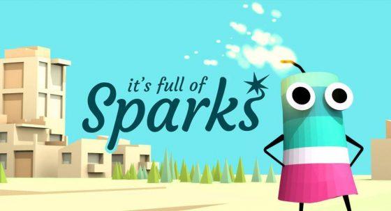 it's full of sparks