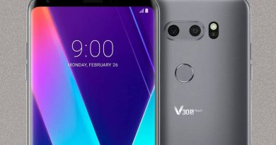 LG V35 ThinQ na zdjęciu. Nie ma notcha, który jest w LG G7