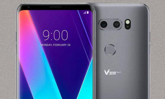 LG V30s ThinQ MWC 2018