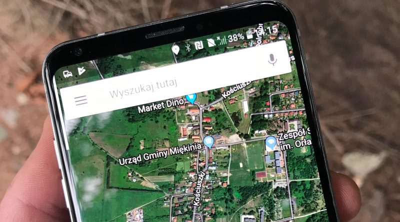 Mapy Google Maps Live View AR iPhone Android aplikacje