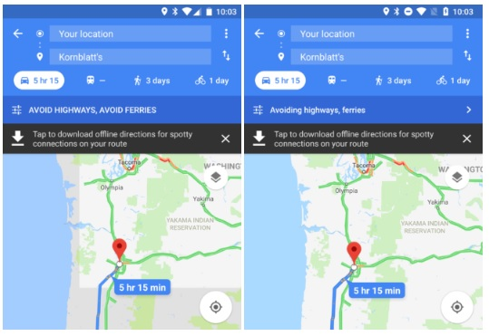 mapy google 9.72 beta 1