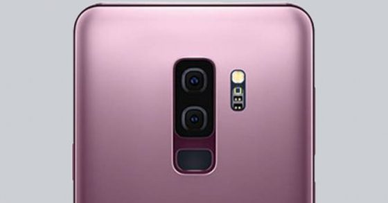 Samsung Galaxy S9 Plus Sony IMX345