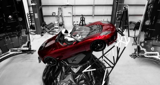 Falcon Heavy SpaceX Elon Musk Tesla Roadster