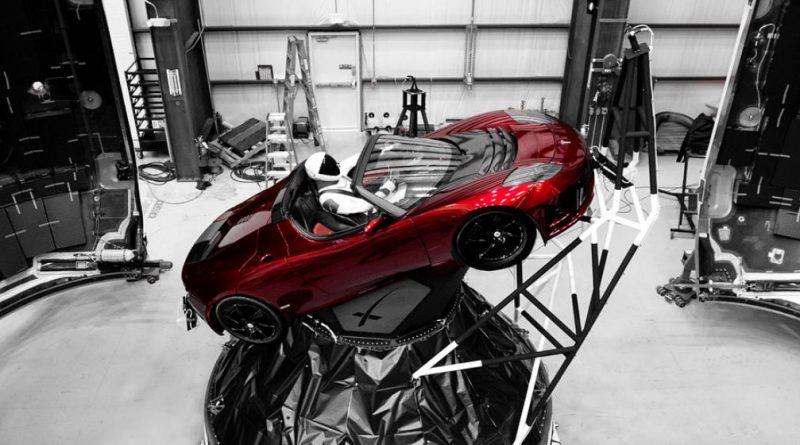 Falcon Heavy SpaceX Elon Musk Tesla Roadster