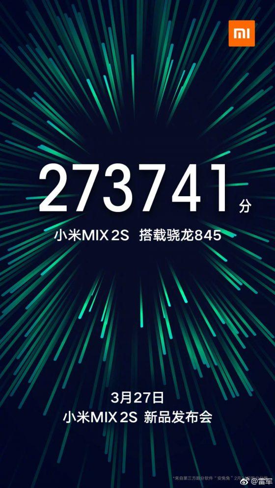 Xiaomi Mi Mix 2s kiedy premiera