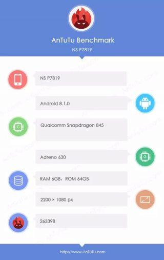 OnePlus 6 AnTuTu
