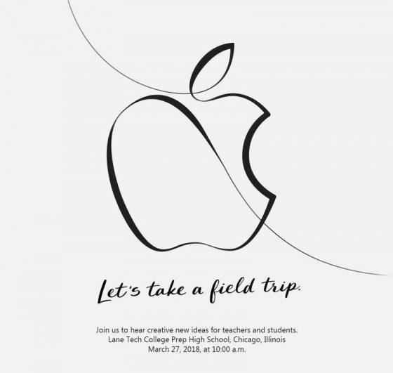 Apple event Chicago edukacja