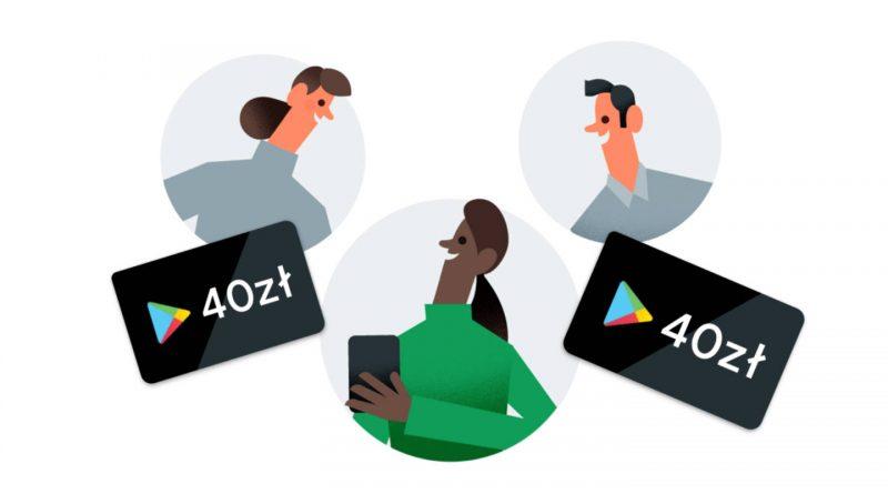 Google Pay promocja kody Google Play