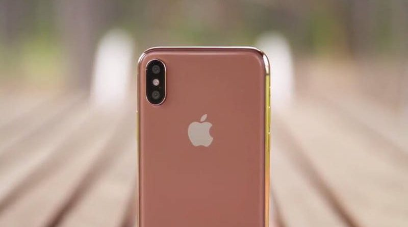 Apple iPhone X miedzianozłoty